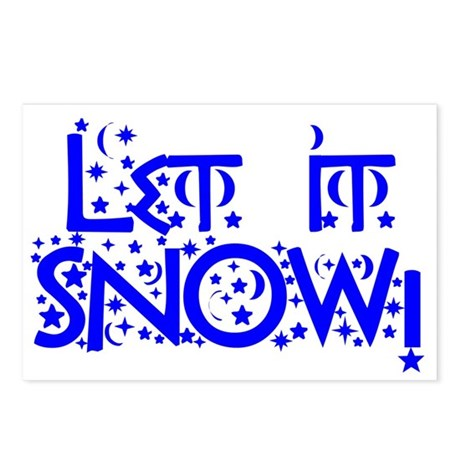 Let it Snow! Postcards (Package of 8)