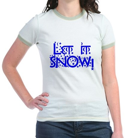 Let it Snow! Jr. Ringer T-Shirt