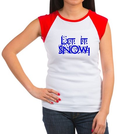 Let it Snow! Women's Cap Sleeve T-Shirt