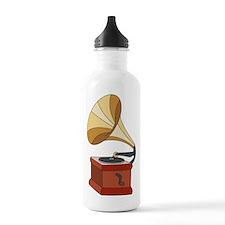 Vintage Phonograph Water Bottle