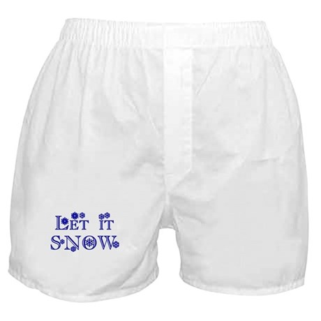 Let it SNOW! Boxer Shorts