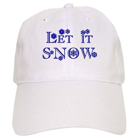Let it SNOW! Cap