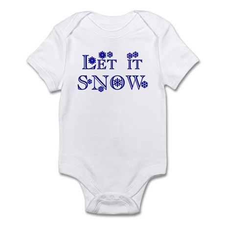 Let it SNOW! Infant Bodysuit