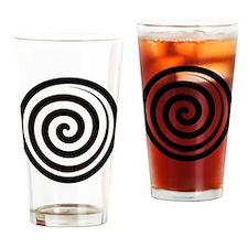Hypnotic Zone Drinking Glass