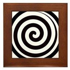 Hypnotic Zone Framed Tile