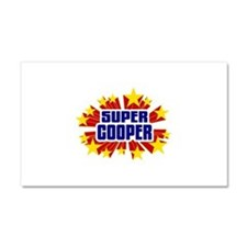 Cooper the Super Hero Car Magnet 20 x 12