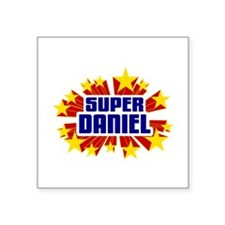 Daniel the Super Hero Sticker