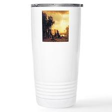 Yosemite Indian Encampment Ceramic Travel Mug