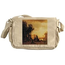 Yosemite Indian Encampment Messenger Bag