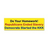 DO YOUR HOMEWORK Car Magnet 10 x 3