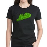 Midrealm Green Retro Tee