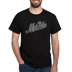 Midrealm Grey Retro Dark T-Shirt