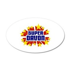 Davon the Super Hero Wall Decal