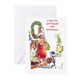Yule Log Greeting Cards (Pk of 10)