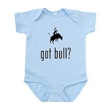 Bull Riding Infant Bodysuit
