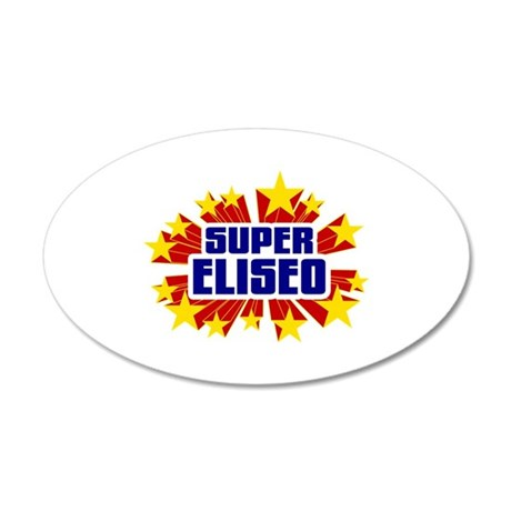 Eliseo the Super Hero Wall Decal