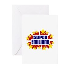 Emiliano the Super Hero Greeting Cards (Pk of 20)