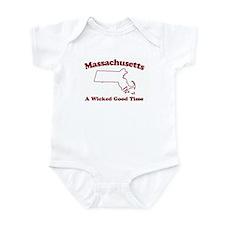 Massachusetts Infant Bodysuit