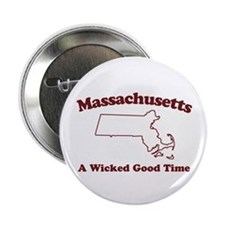 Massachusetts Button