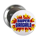 "Giancarlo the Super Hero 2.25"" Button"