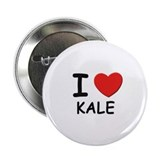 I love Kale Button