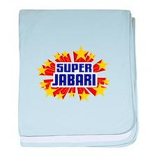 Jabari the Super Hero baby blanket