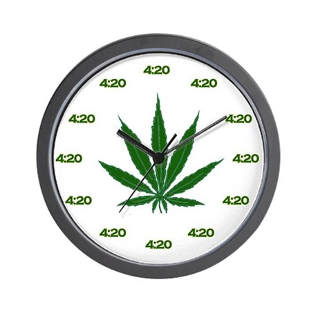 4:20 Wall Clock