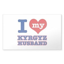 I love my Kyrgyz husband Decal