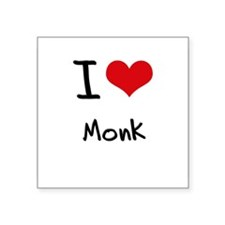 I Love Monk Sticker