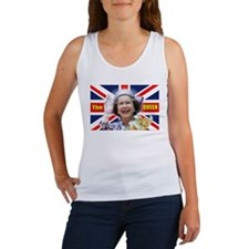 HM Queen Elizabeth II Tank Top