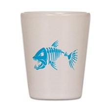 Pirate fish Shot Glass