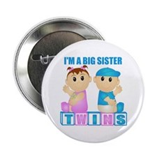I'm A Big Sister (PBG:blk) Button