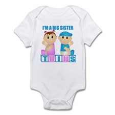 I'm A Big Sister (PBG:blk) Infant Bodysuit