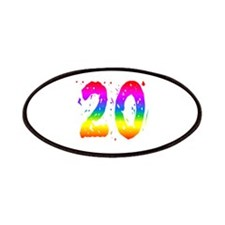 Confetti Rainbow 20 Patches
