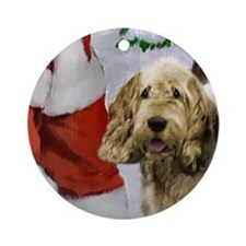 Otterhound Christmas Ornament (Round)