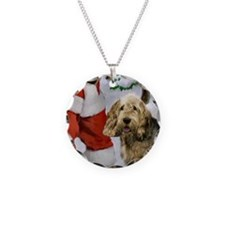 Otterhound Christmas Necklace