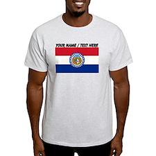 Custom Missouri State Flag T-Shirt