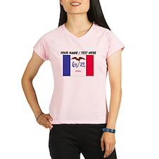 Custom Iowa State Flag Peformance Dry T-Shirt