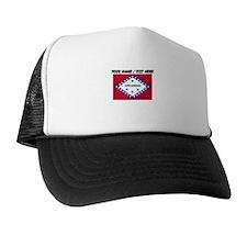 Custom Arkansas State Flag Trucker Hat