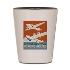 NYC airports Shot Glass