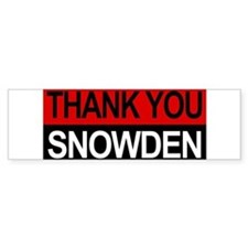 Edward Snowden Hero! Bumper Bumper Sticker