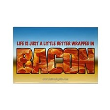 Bacon... Rectangle Magnet (10 pack)