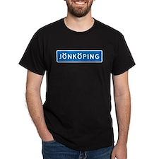 Road Marker Jönköping - Sweden T-Shirt