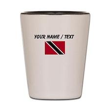 Custom Trinidad and Tobago Flag Shot Glass