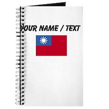 Custom Taiwan Flag Journal