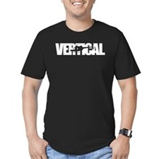 Vertical Black Shir T-Shirt
