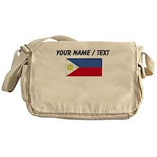 Custom Philippines Flag Messenger Bag