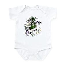 Blair Tartan Unicorn Infant Bodysuit