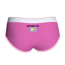 Custom Palau Flag Women's Boy Brief