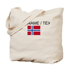 Custom Norway Flag Tote Bag